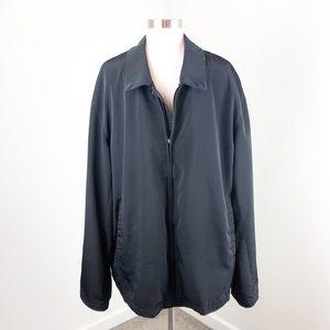 Claiborne black zip up jacket